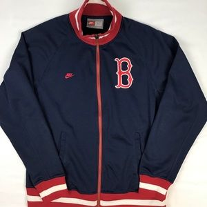 VTG Nike Red Sox track jacket